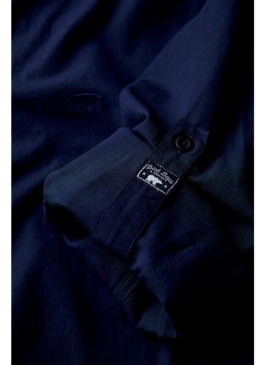 Bad Bear Erkek Oxford Shirt Gömlek 20.01.30.002 Lacivert